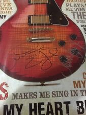 """Graeme Edge And John Lodge """"Moody Blues"""" Signed/ Autographed Poster.. See Proof"""