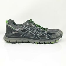 Asics Mens Gel Scram 3 T6K2N Gray Green Running Shoes Lace Up Low Top Size 11