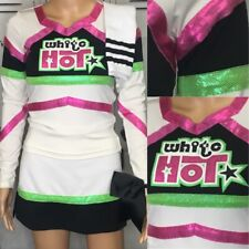 Cheerleading Uniform  white hot Adult Sm