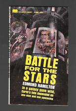 Battle For The Stars by Edmond Hamilton PB 1967 2nd PB Library 52-609 FREE S/H