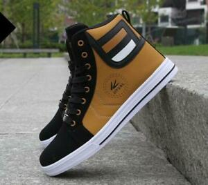 HOT 2021 Fashion Men's Casual High Top Sport Sneakers Athletic Running Shoes LOT
