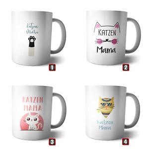 Coffee Mug-Cup Cats Mother   Mum Family Pet Animal Purr Fur