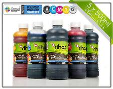 Rihac 500ml Refill Ink for Canon CLI671 MG7760 MG7765 MG7766 TS8060 TS9060