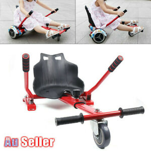 Red Go Kart Hover Kart HoverKart Stand Seat for electric balance scooter AU