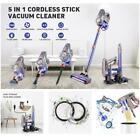 5-in-1 Cordless Stick Handheld Vacuum Cleaner HEPA for Home Car Carpet Floor US photo