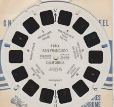 VIEWMASTER REEL: 198-X SAN FRANCISCO CALIFORNIA