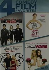 This Means War / 27 Dresses / What S Your Number (2014, REGION 1 DVD New)
