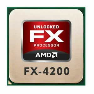 AMD FX Series FX-4200 (4x 3.30GHz) FD4200FRW4KGU CPU Sockel AM3+   #311013