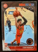 🔥💎 CAM REDDISH 2019-20 NBA Hoops Premium Stock OPTI-CHROME Hawks RC #207 MINT
