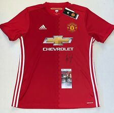 Bastian Schweinsteiger signed Adidas Manchester United Soccer Jersey Man U JSA