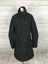 Womens Levi Quilted Coat - Small Uk8/10 - Black - Great Condition