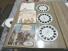 Viewmaster Reels - Bonanza  TV Show B471 - 1964