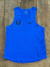 Nike Pro Elite Oregon Project (NOP) RARE BLUE! Singlet Gyakusou Aeroswift MEDIUM