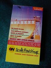 On Video: Skateboarding Summer 2000 Premiere (Vhs Skate) Collectors Edition!