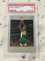 2007 2008 07-08 Topps Chrome #131 Kevin Durant Rookie RC Supersonics Nets PSA 7