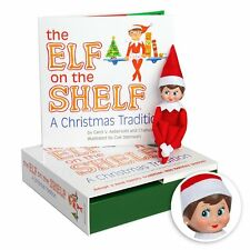 Elf on the Shelf : A Christmas Tradition Blue Eyed Girl Light Skinned Scout Elf