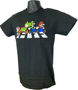 Super Mario Characters Beatles - Officially Licensed T-Shirt