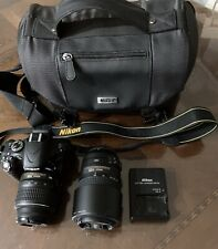 Nikon D5100 16.2MP Digital SLR Camera - Black VR 18 - 55mm and 55 - 300 mm lens