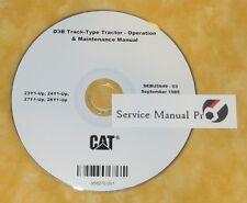 SEBU5649 Caterpillar D3B Track-Type Tractor Operation Maintenance Manual CD.