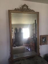 Giltwood Mirror French Louis Xvi 19th Century