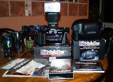 Film Tested Nishika N8000 35 mm Quadrascopic Stereo 3D Lenticular Camera