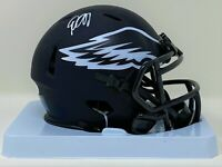 Desean Jackson Autographed Philadelphia Eagles Eclipse Mini Helmet JSA Authen...