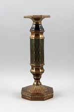 9937499 Kerzenständer Leuchter Messing farbig achteckig antikes Vorbild