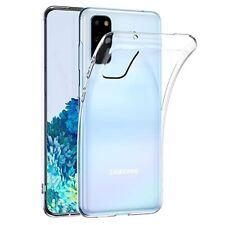 Custodia Cover Ultra Slim Silicone Trasparente Samsung Galaxy S20 S21 Plus Ultra