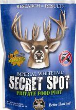 SECRET SPOT Seed 4 lb Whitetail Institute DEER & TURKEY Food Plot CLOVER Oats