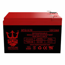Neptune/Upg 12V 12Ah F2 SEALED LEAD ACID AGM DEEP-CYCLE RECHARGEABLE BATTERY