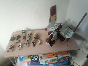 Rare Star Wars Job Lot Of Vehicles And Figures lot 2