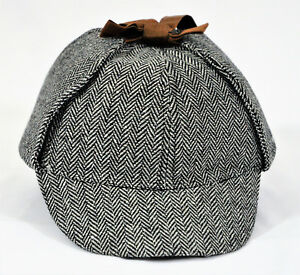 DETECTIVE SHERLOCK HOLMES DEERSTALKER COSPLAY HAT; AS SEE ON BBC UNISEX NEW