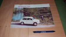 ZASTAVA 750 FICA YUGOSLAVIA AUTO CAR BROCHURE ADVERTISIMENT
