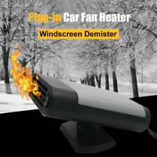1x Car Heater Fan 12V Heating Cooling Dry Heater Fan Defroster Demister Durable