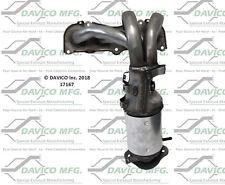 Catalytic Converter-Exact-Fit Front Davico Exc CA 17167