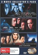 I KNOW WHAT YOU DID LAST SUMMER 1 2 3 Trilogy : NEW DVD