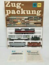 PIKO 5/0746/000 Leiterzug Train Set Diesel Locomotive BR 130 4 Freight Wagons HO