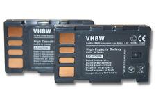2x BATERIA para JVC BN-VF808 BN-VF808U