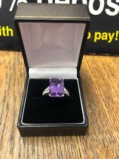 Statement Amethyst And Diamond Ring!!!