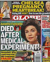 Globe Magazine April 29 2013 Annette Funicello Chelsea Clinton Trisha Yearwood