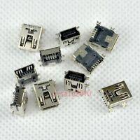 10 pcs Mini USB Type B Female 5 Pin SMT/SMD DIY Socket Connector for MP3/4/5 D18
