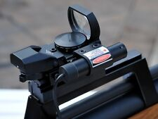 Red Dot Sight with Red Laser for Airsoft Guns etc. In UK