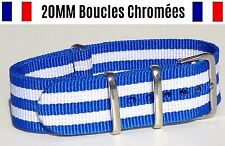 NATO ★ 20MM ★ N°42 ★ Bracelet montre Watch Band Strap Nylon Military Army 007
