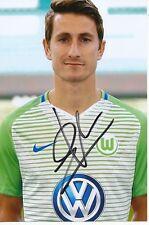 Paul Verhaegh  VFL Wolfsburg  Fußball Foto original signiert 355726