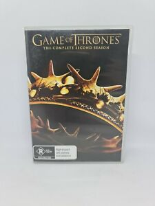 GAME OF THRONES Season Two DVD Region 4 TV Show Very Good Condition