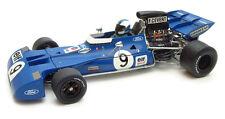 F1 TYRRELL Ford 002 003 #9 Cevert GP USA Winner elf 1971 Exoto 97021 RARE 1:18