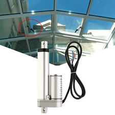 "2XHeavy Duty 6"" Linear Actuator 1500N 12V Electric Motor Auto Door Window Lift"
