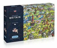 Gibsons Beautiful Britain Jigsaw Puzzle, 1000 piece