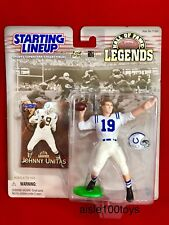 Starting Lineup NFL Johnny Unitas Baltimore Colts Hall Of Fame Legends Exclusive