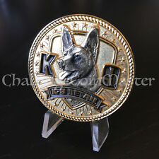 Houston Police Department Texas K9 Canine Dog Challenge Coin